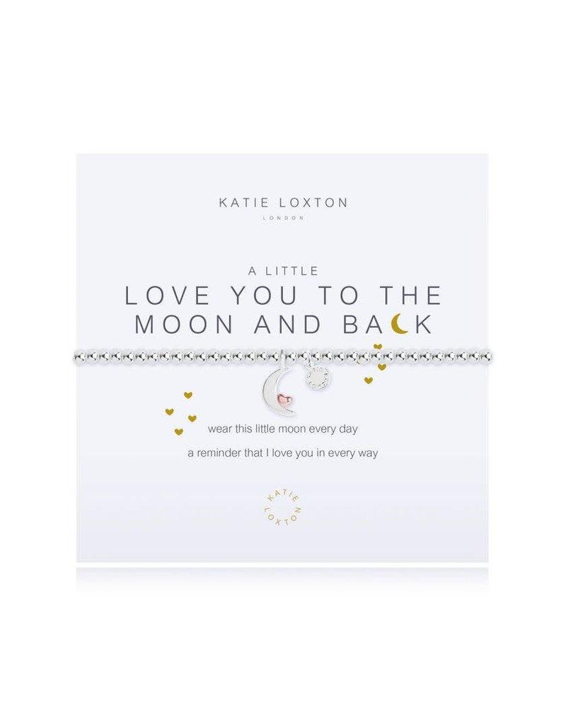 Katie Loxton Katie Loxton Bracelet-Love You to the Moon