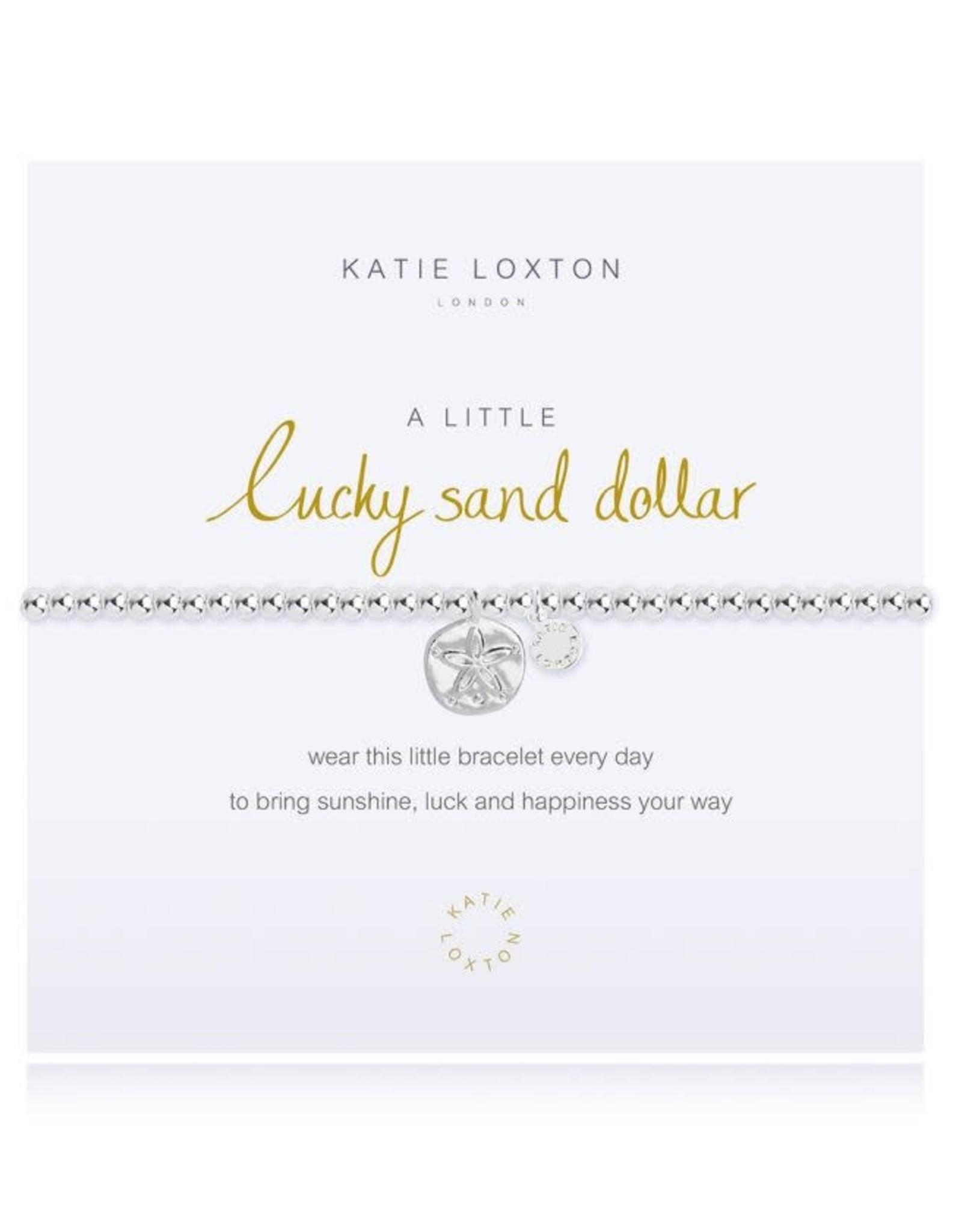 Katie Loxton Bracelet-Lucky Sand Dollar