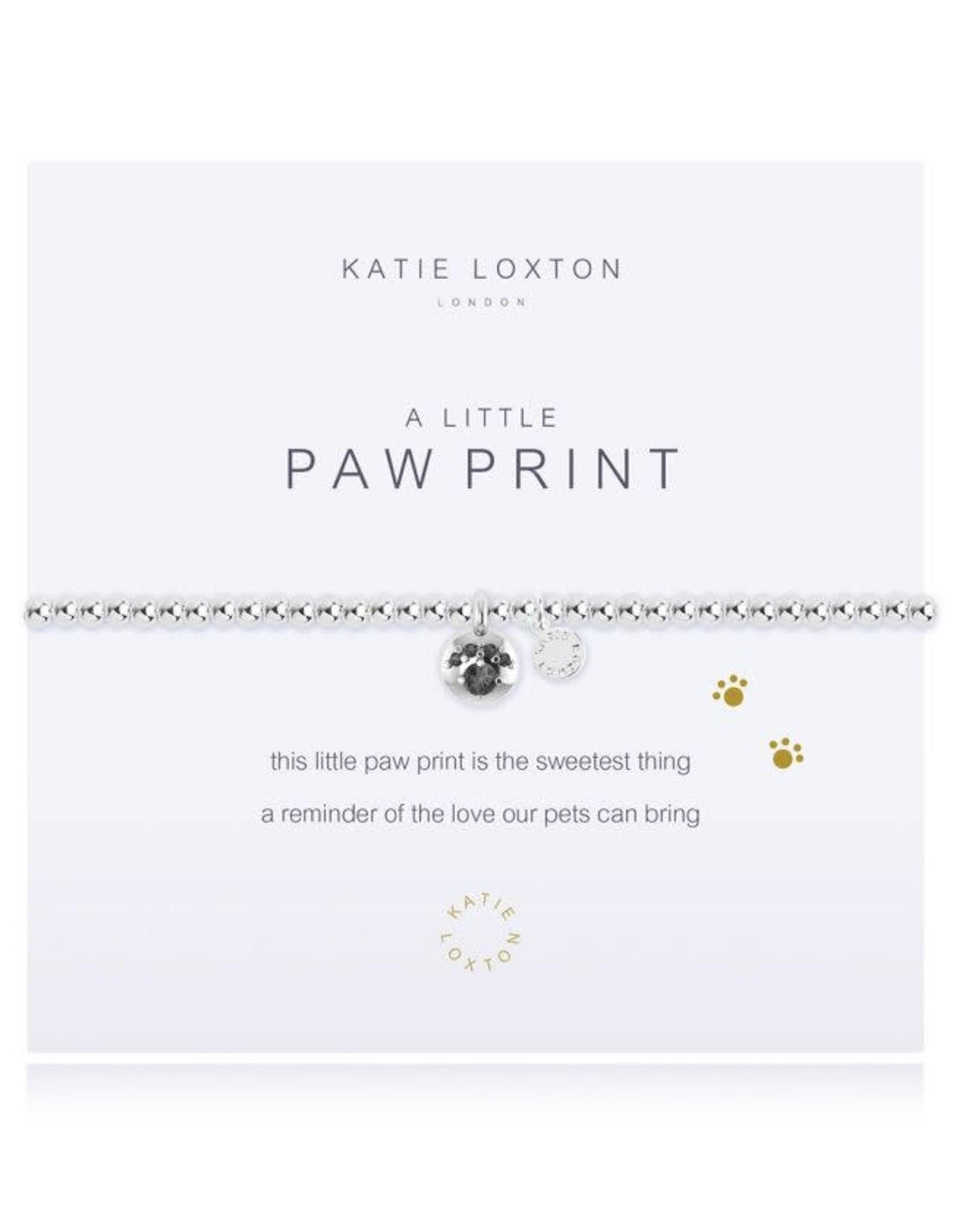 Katie Loxton Bracelet-Paw Print