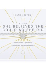 Katie Loxton Bracelet-She Believed She Could So She Did