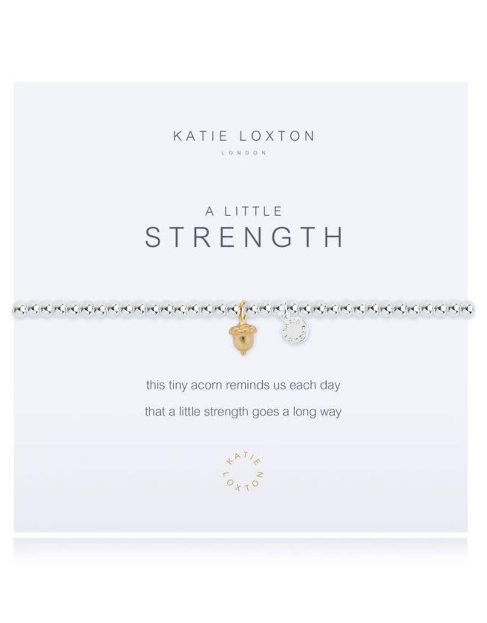 Katie Loxton Bracelet-Strength Acorn