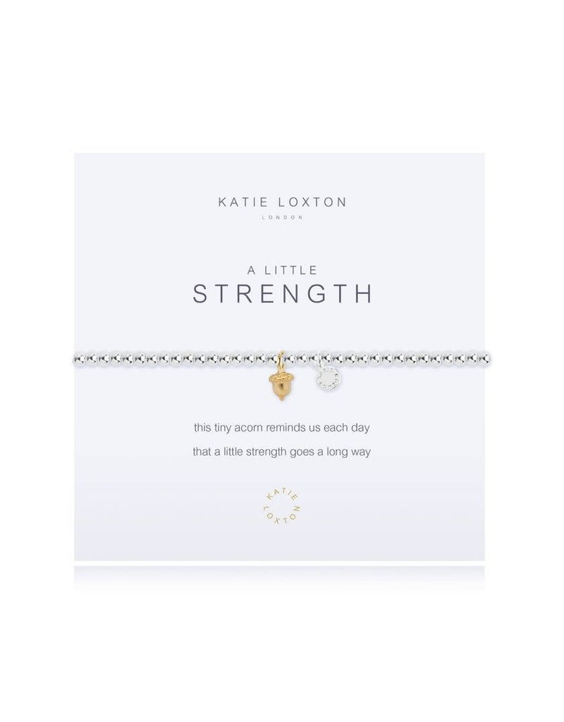 Katie Loxton Katie Loxton Bracelet-Strength Acorn