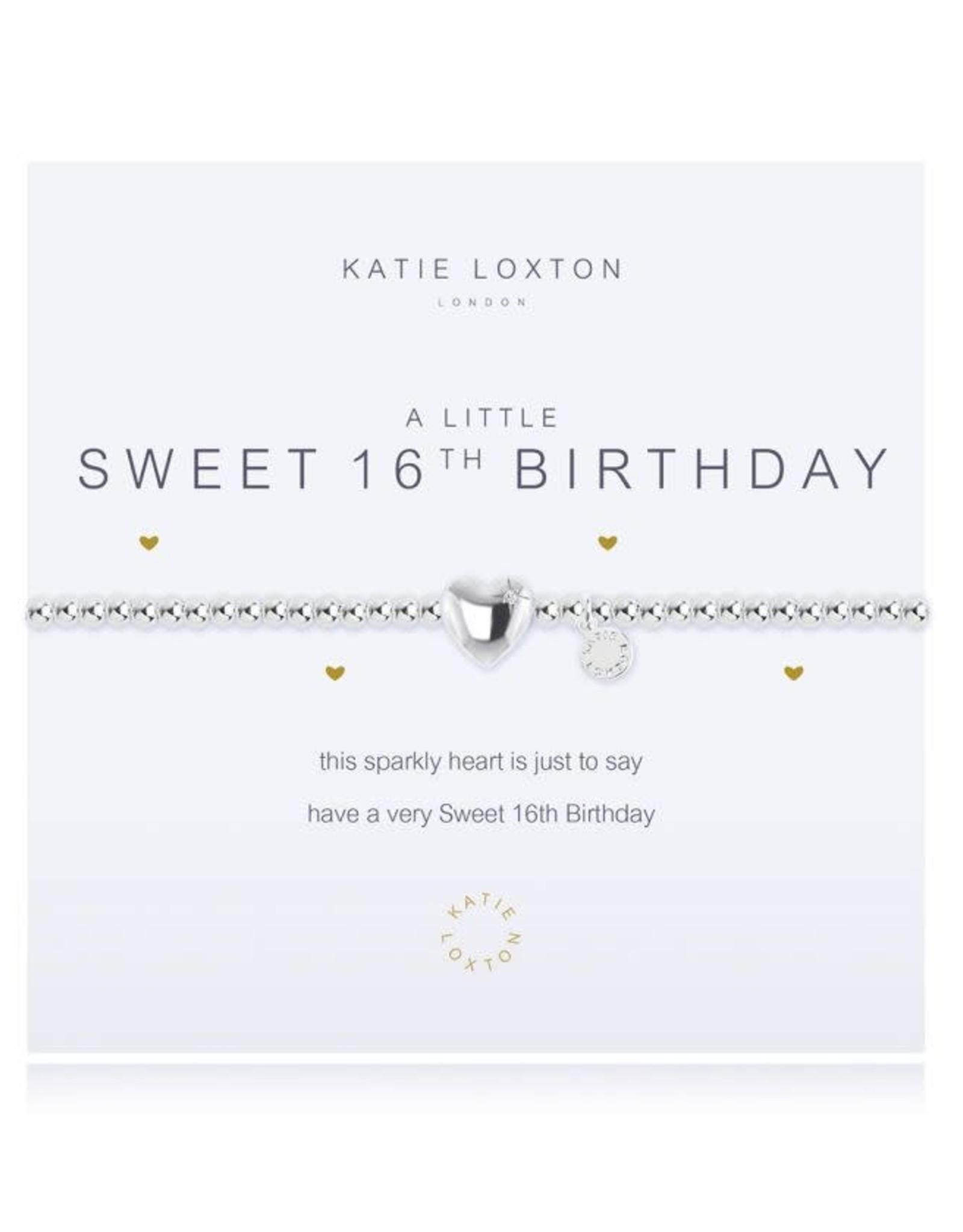 Katie Loxton Bracelet-Sweet 16th