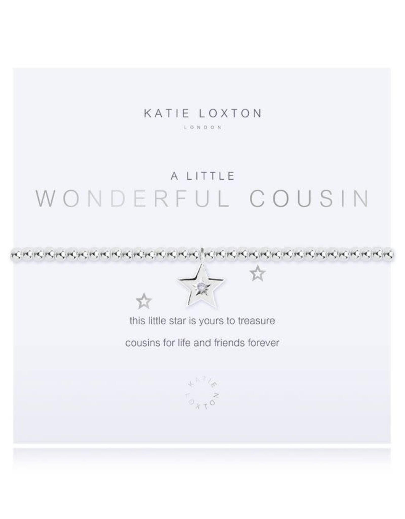 Katie Loxton Bracelet-Wonderful Cousin