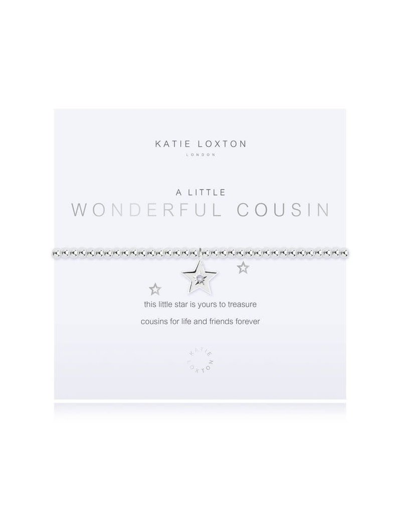 Katie Loxton Katie Loxton Bracelet-Wonderful Cousin