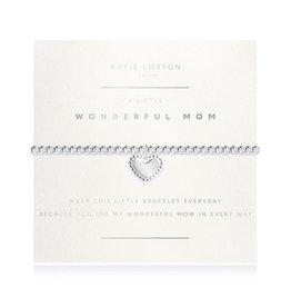Katie Loxton Bracelet-Wonderful Mom Heart