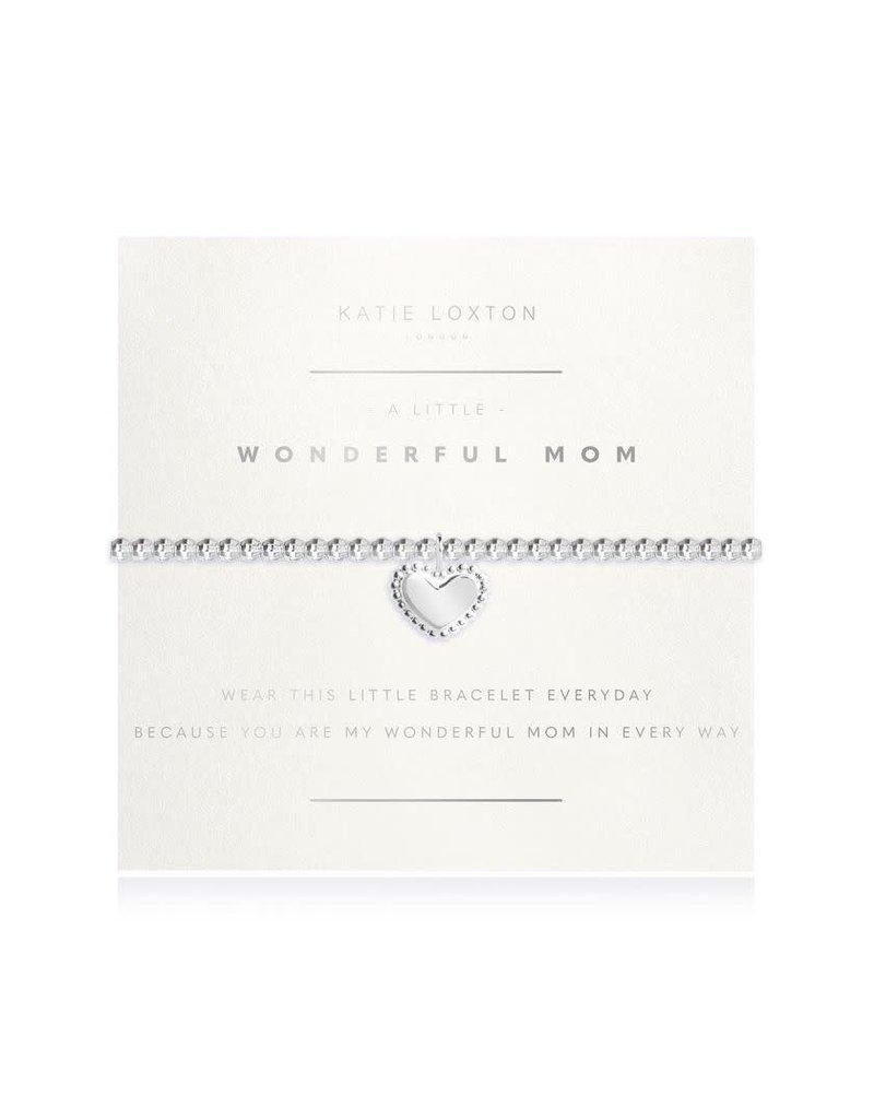 Katie Loxton Katie Loxton Bracelet-Wonderful Mom Heart