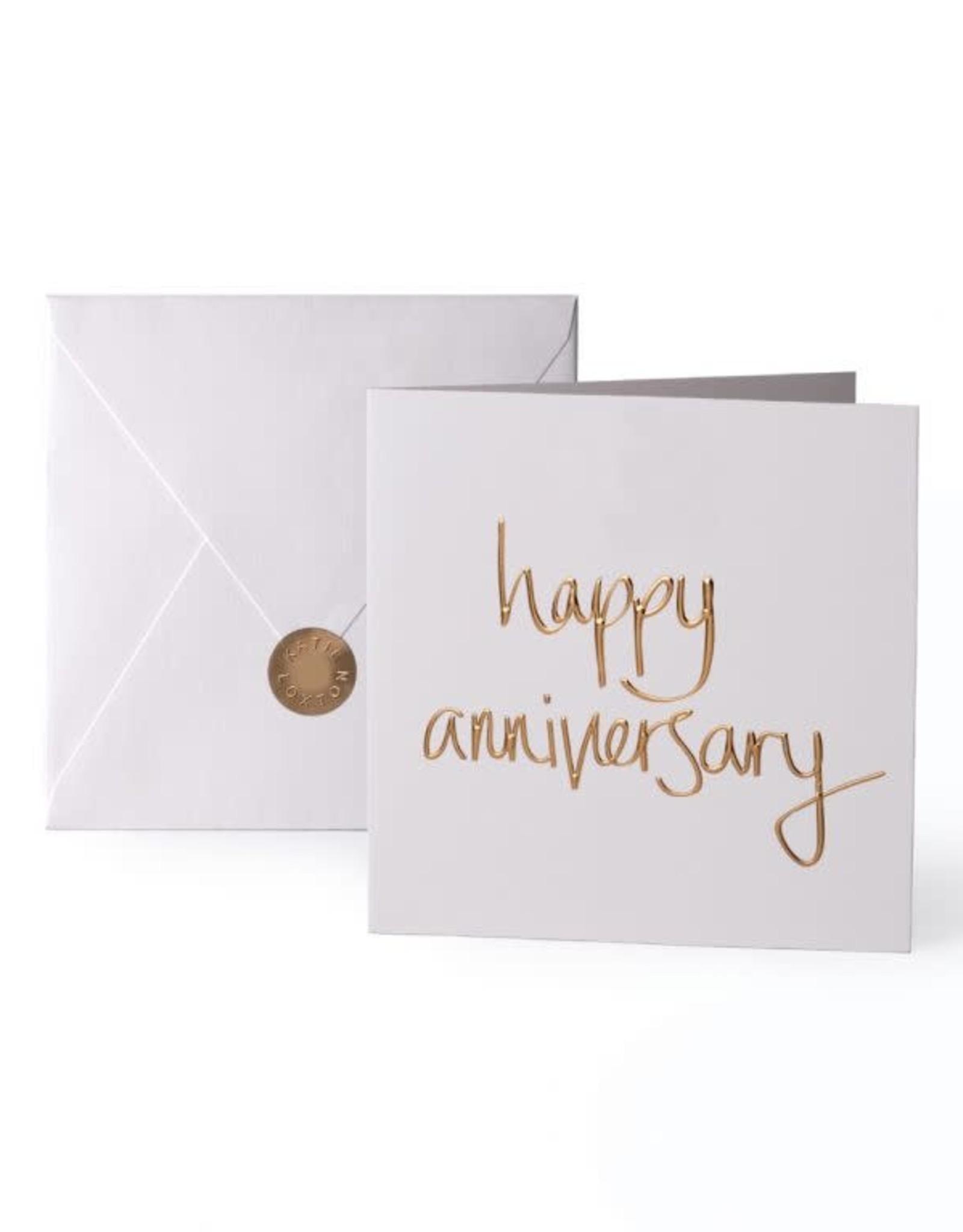 Katie Loxton Greeting Card-Happy Anniversary