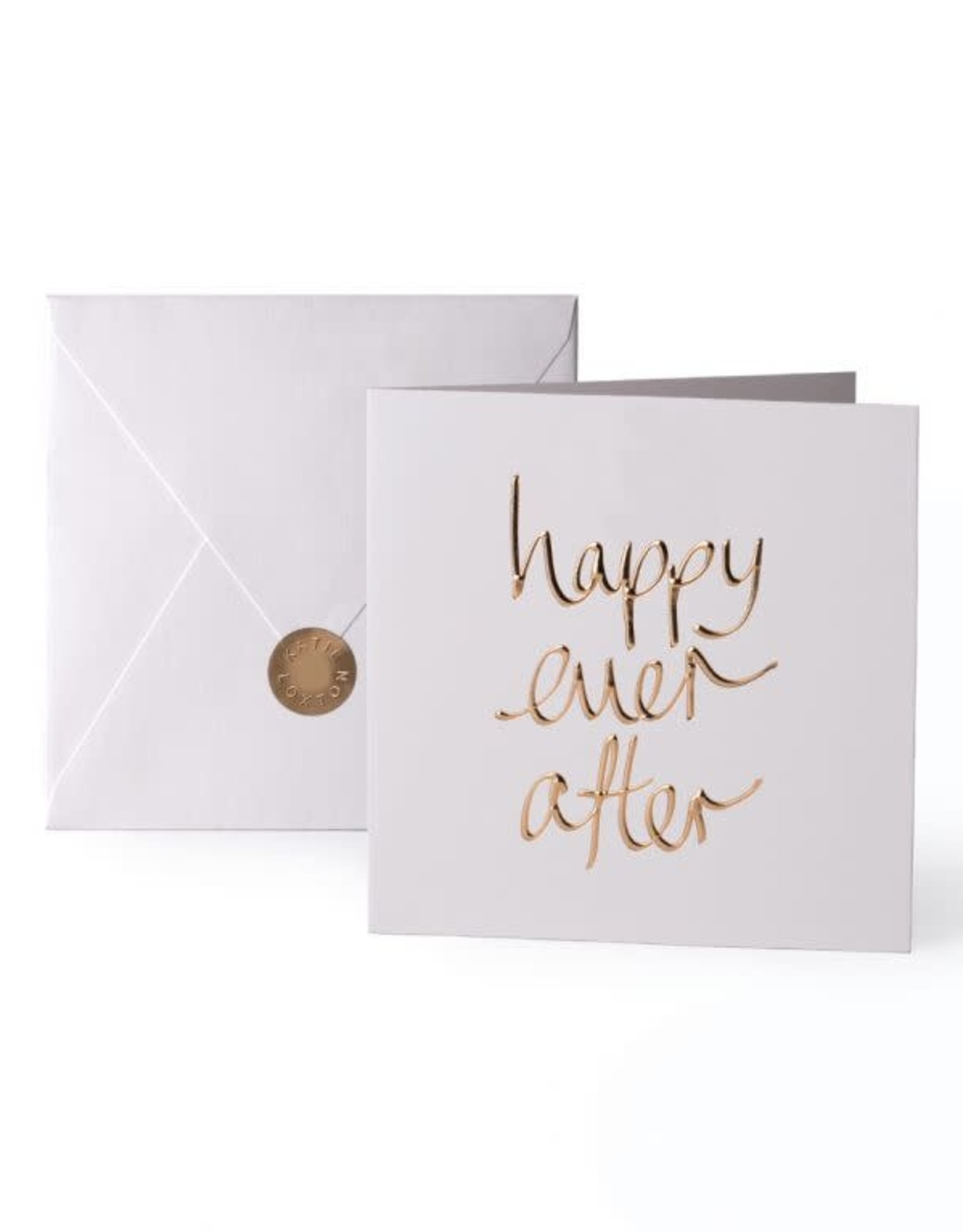 Katie Loxton Greeting Card-Happy Ever Afer