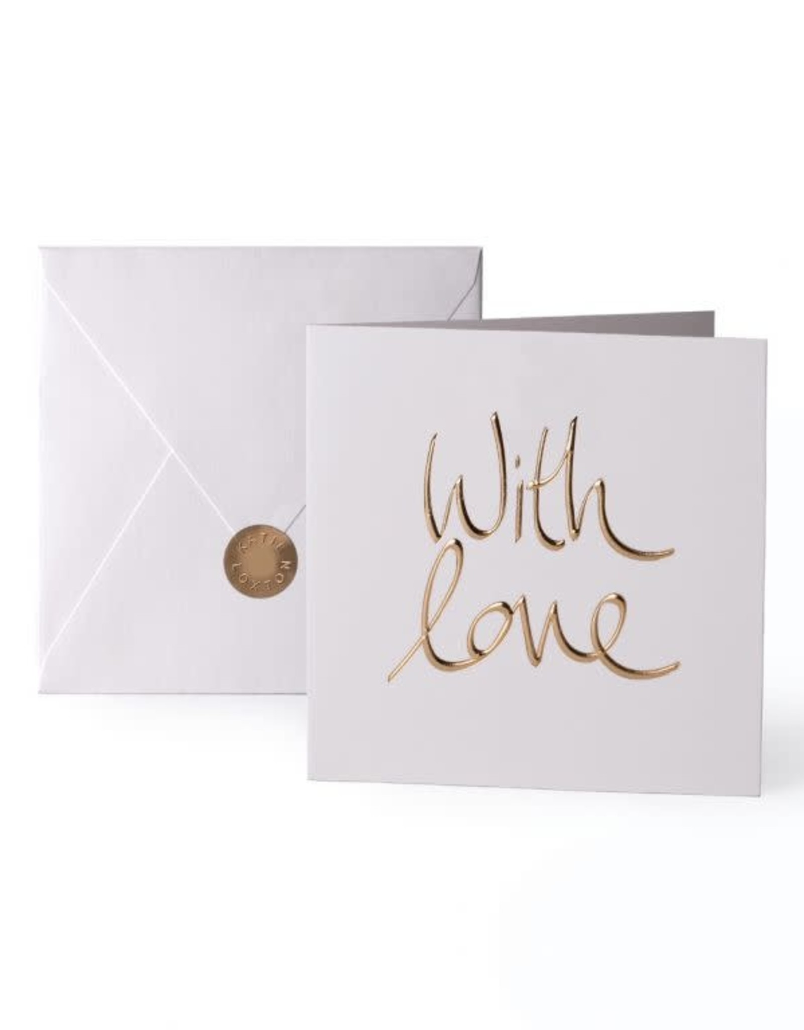 Katie Loxton Greeting Card-With Love