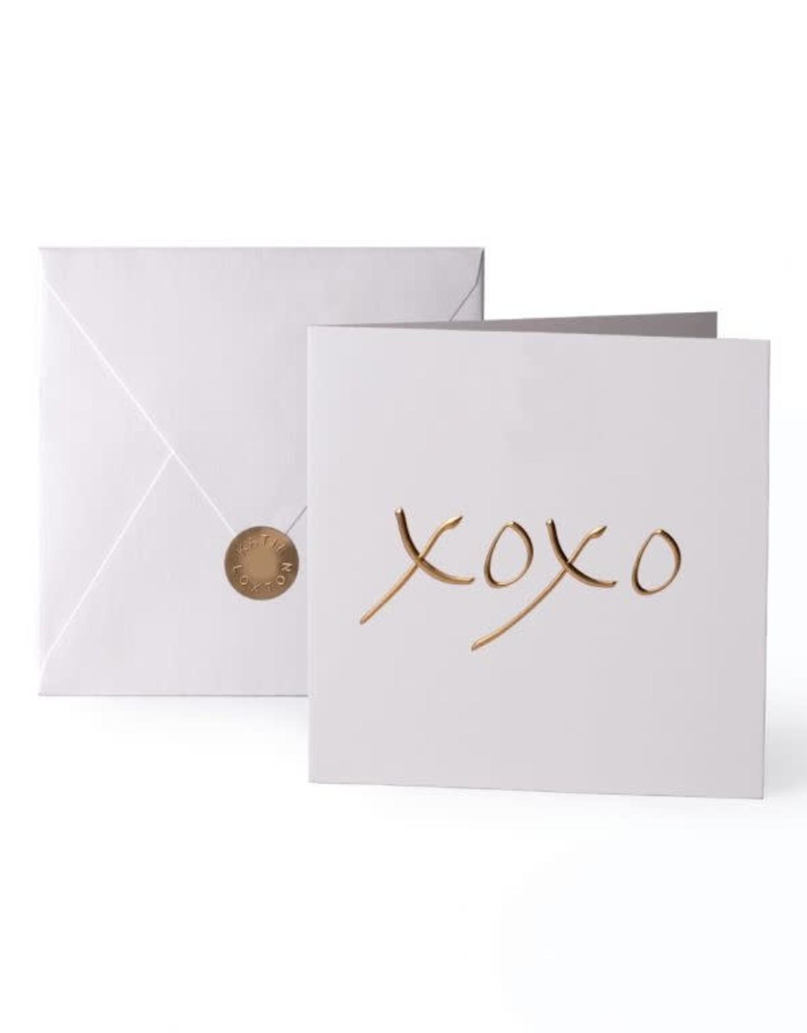 Katie Loxton Greeting Card-xoxo