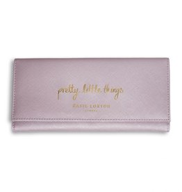 Katie Loxton Jewelry Roll-Pretty Things Metallic Pink