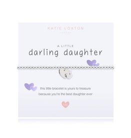 Katie Loxton Child's Little Bracelet-Darling Daughter