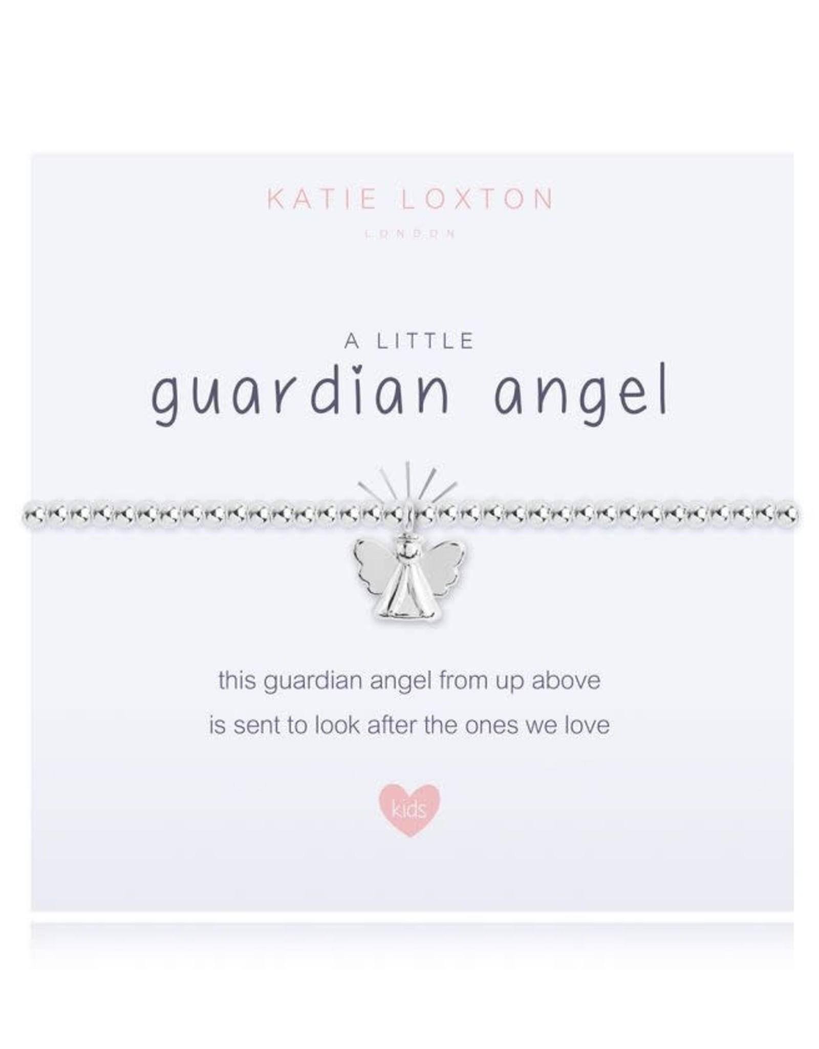 Katie Loxton Child's Beaded Bracelet-Guardian Angel