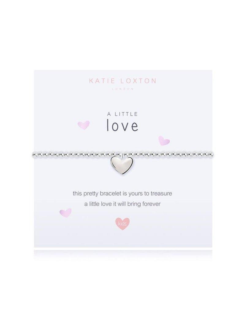 Katie Loxton Katie Loxton Children's Beaded Bracelet- Love