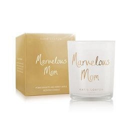 Katie Loxton Katie Loxton Metallic Candle-Marvelous Mom Pomegranate and Sweet Apple