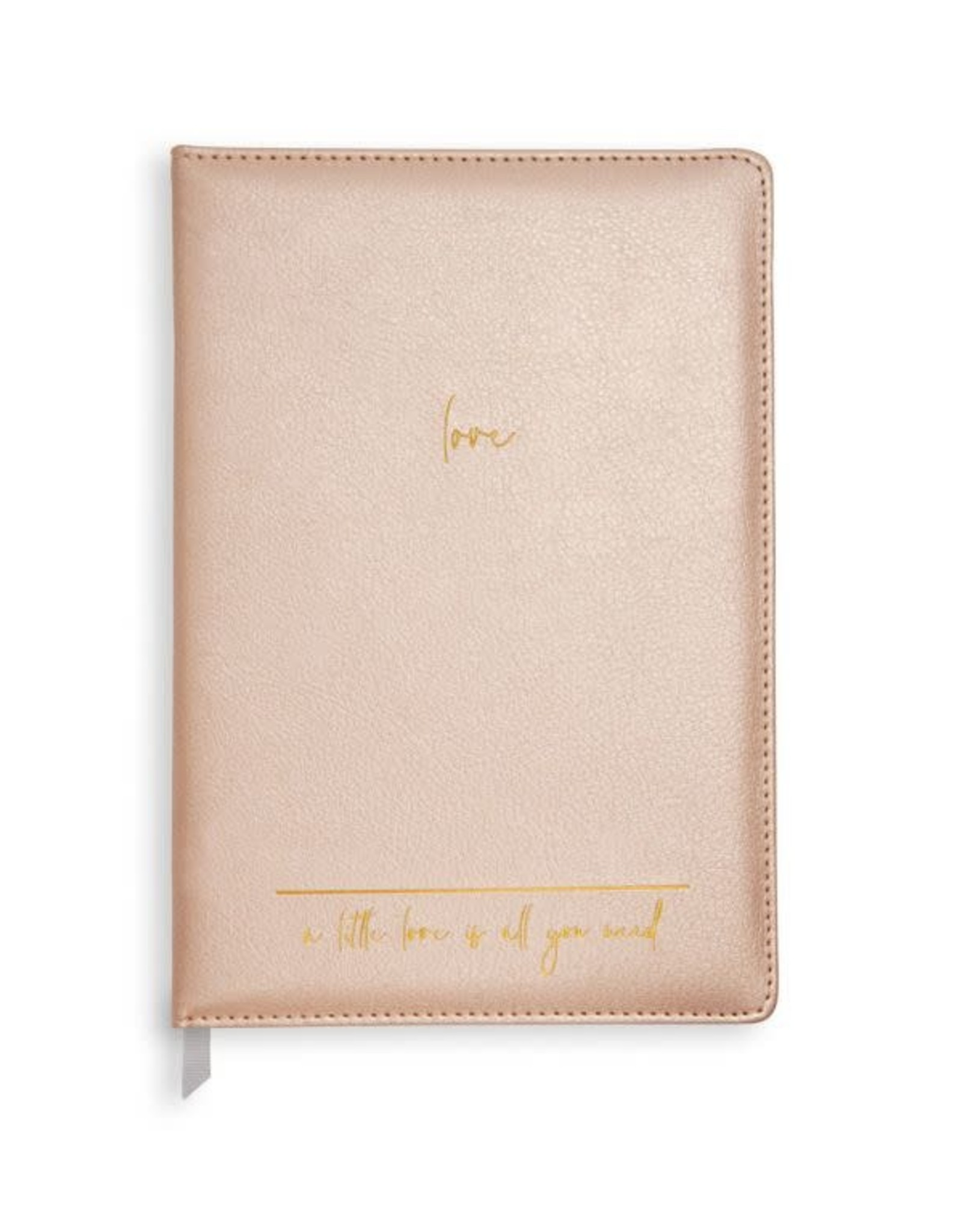 Katie Loxton Notebook A Little Love is all You Need Pink