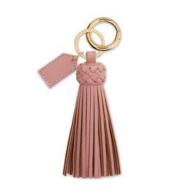 Katie Loxton Cara Tassel Keyring Pink