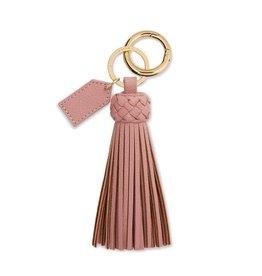 Katie Loxton Katie Loxton Cara Tassel Keyring Pink