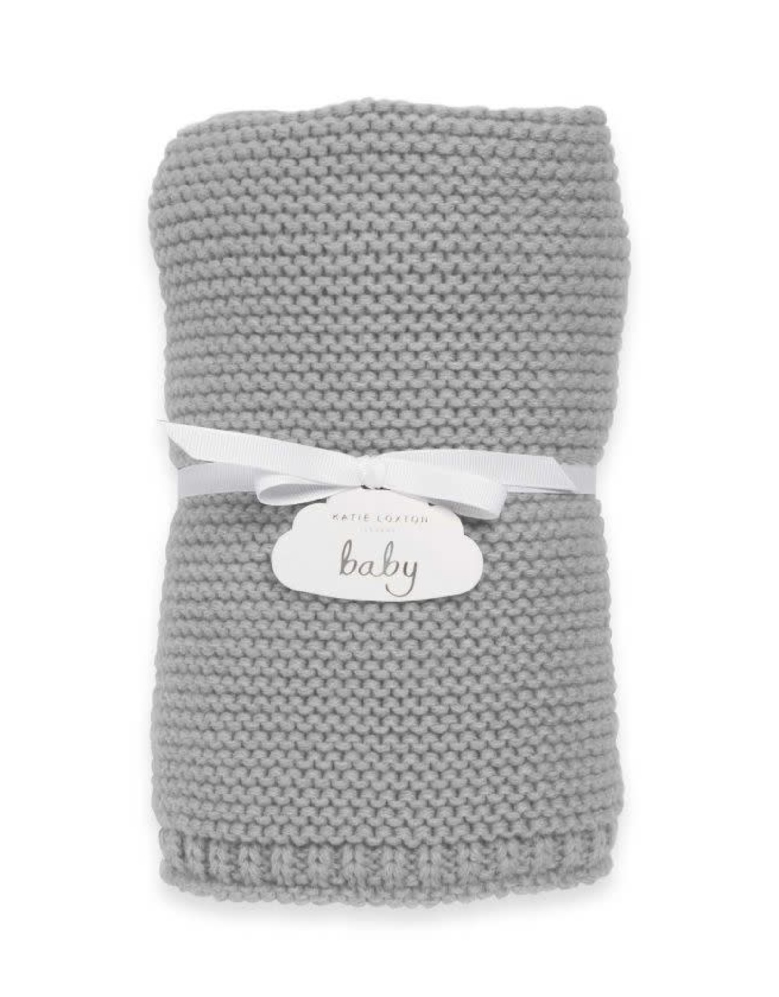 Katie Loxton Baby Blanket-Grey