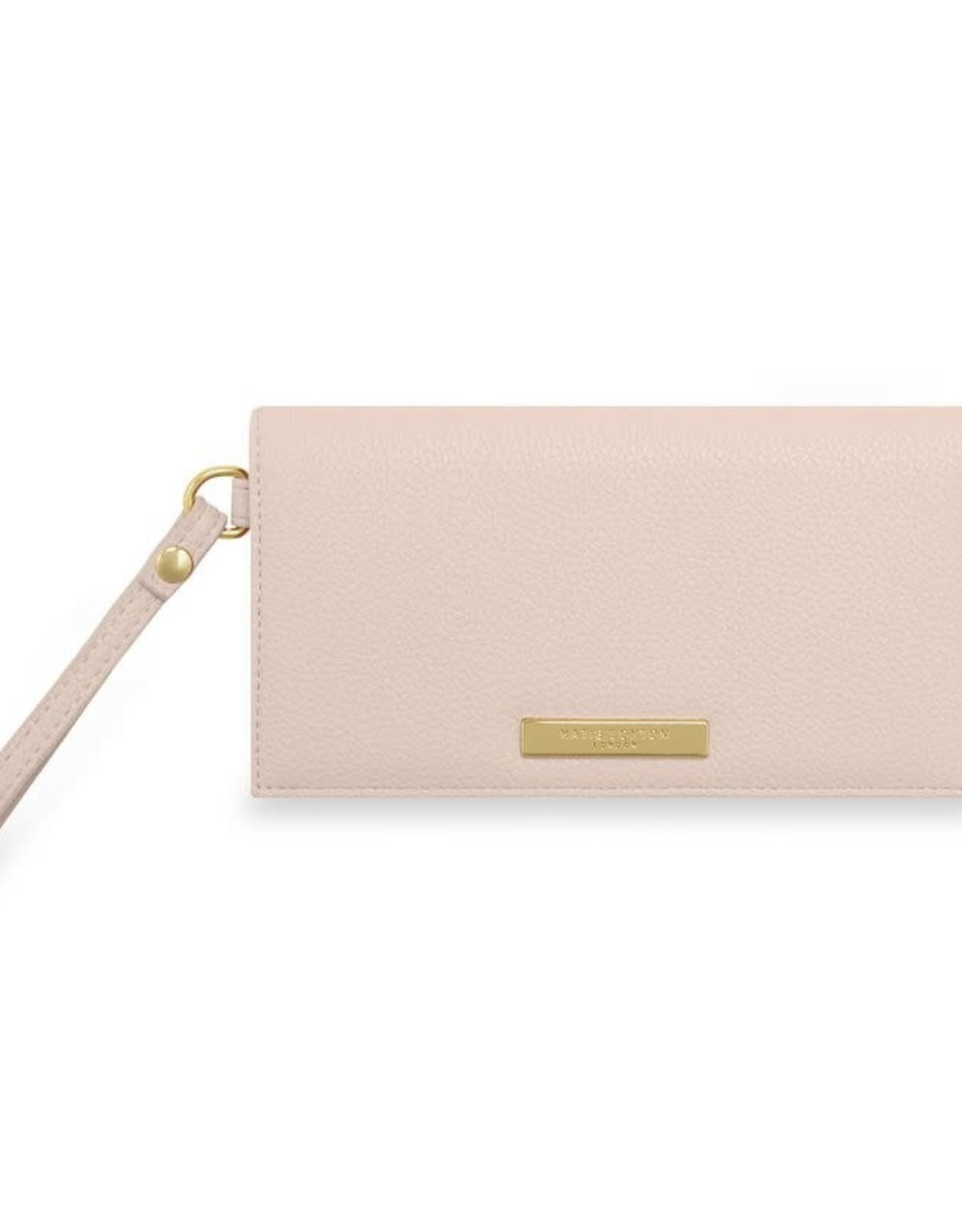 Katie Loxton Cleo Wristlet Nude Pink