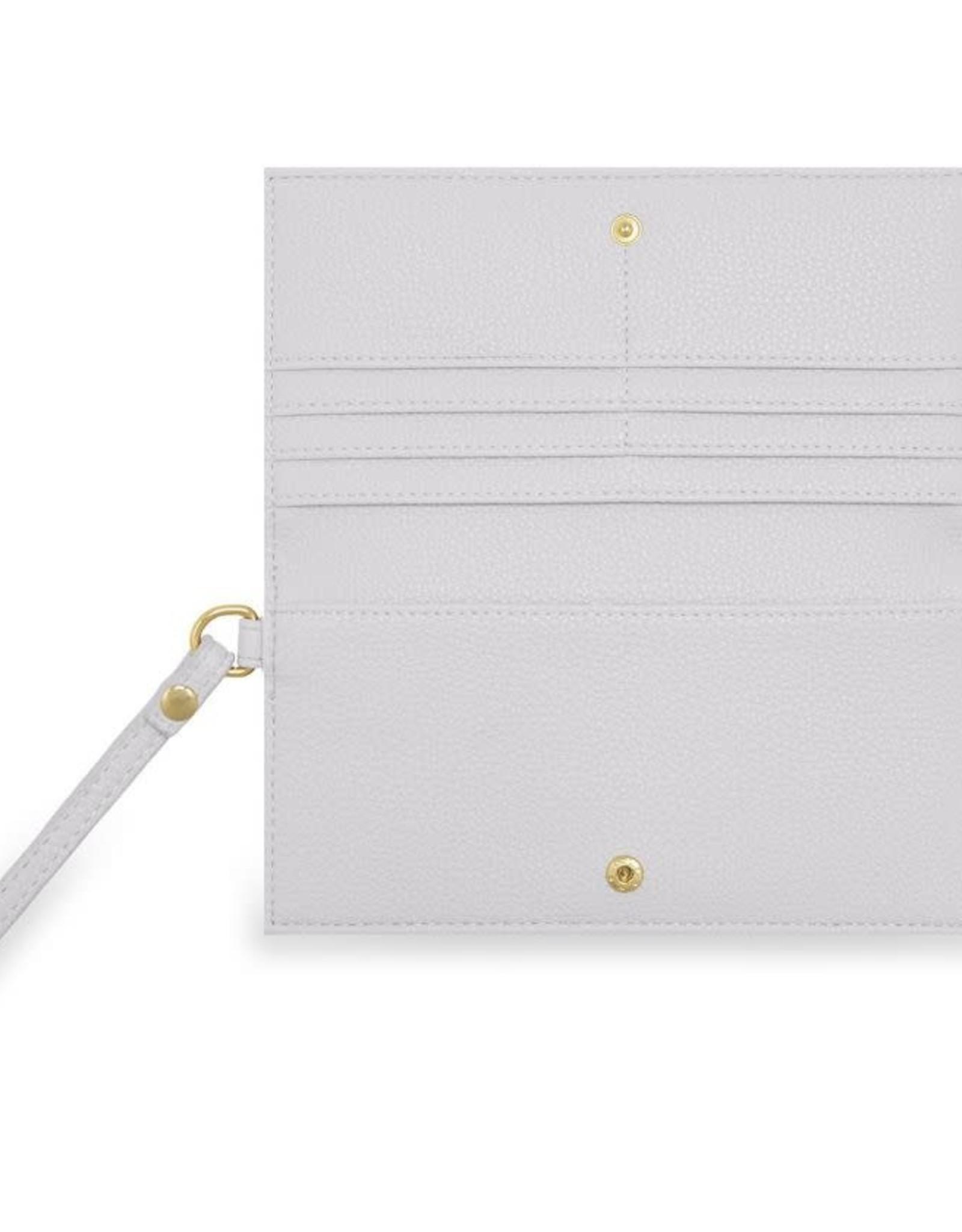 Katie Loxton Cleo Wristlet Pale Grey