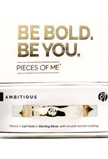Pieces of Me Bracelet  Ambitious Gold