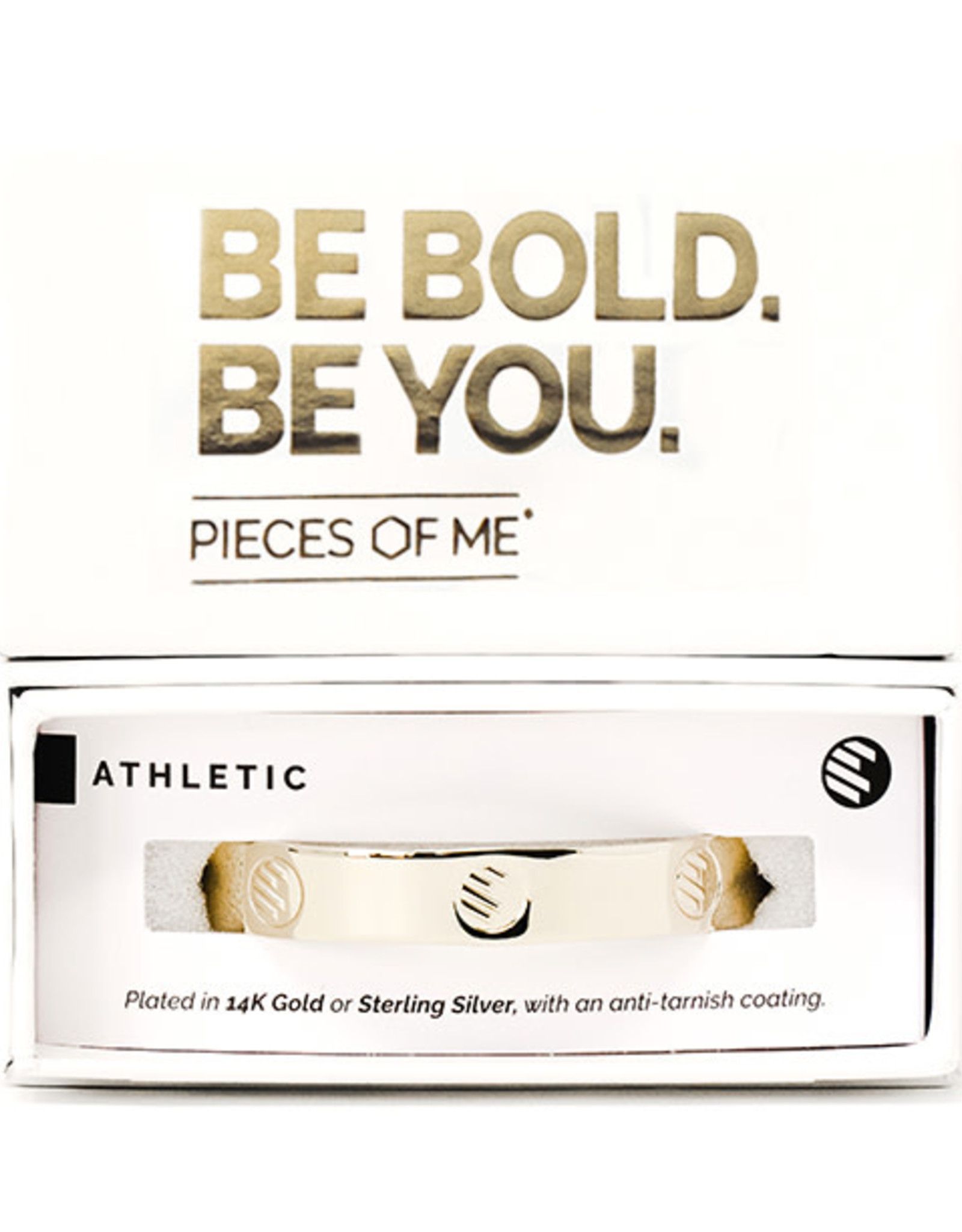 Pieces of Me Bracelet Athletic Gold