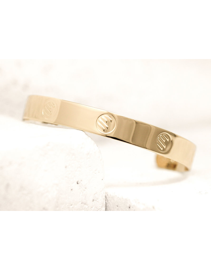 Pieces of Me Cuff Athletic Gold