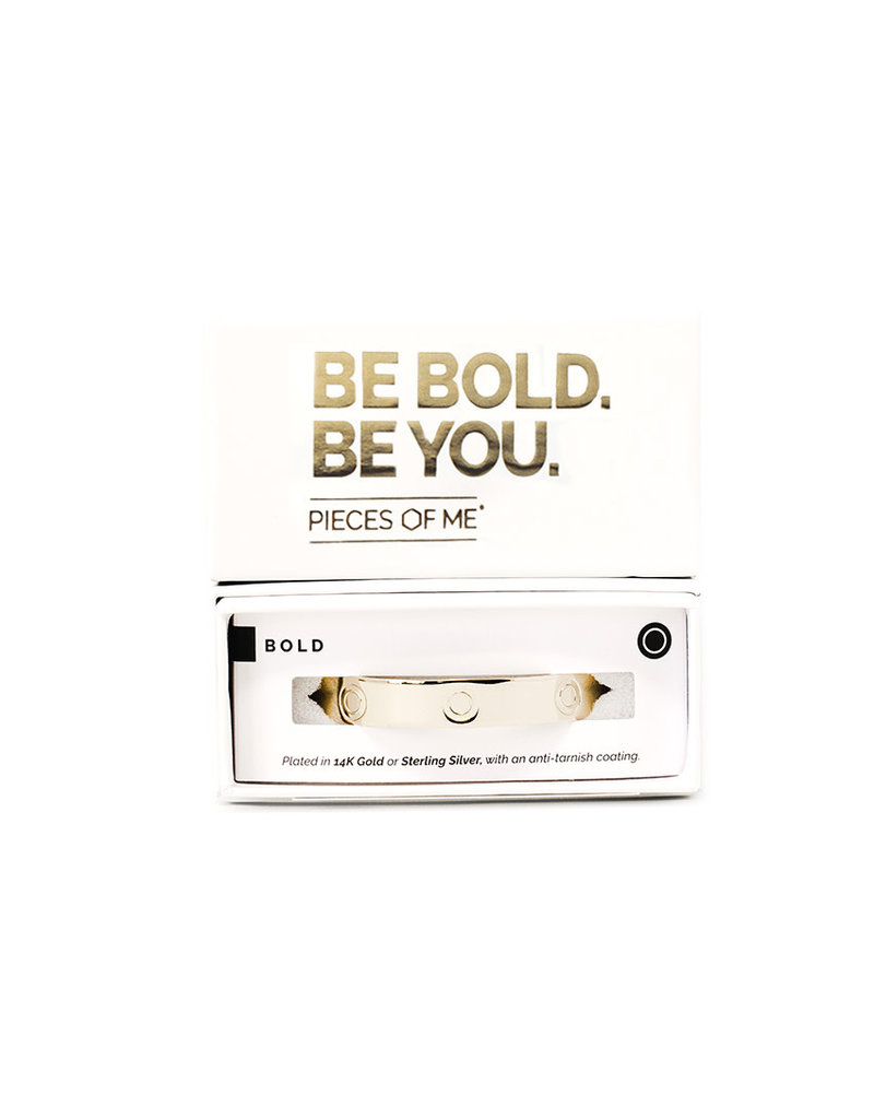 Pieces of Me Cuff Bold Gold