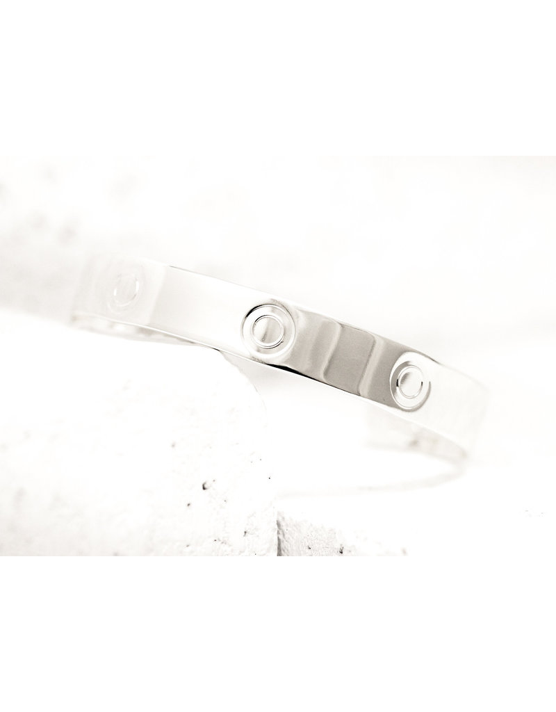 Pieces of Me Cuff Bold Silver