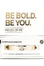 Pieces of Me Bracelet Compassionate Gold