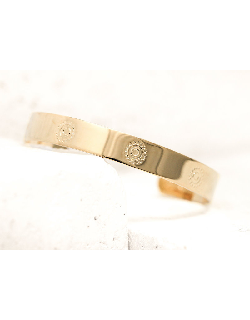 Pieces of Me Cuff Confident Gold