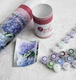 Pink Picasso Kits Paint by Numbers Kit Happily Hydrangea
