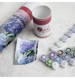 Paint by Numbers Kit Happily Hydrangea