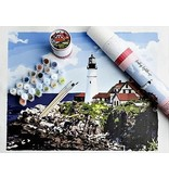 Paint by Numbers Kit Leading Lighthouse