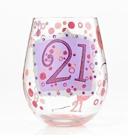 Lolita (Enesco) Stemless Wine Glass 21