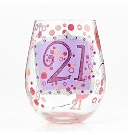 Stemless Wine Glass 21