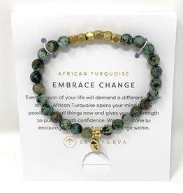 Lenny & Eva Gemstone Bracelet Africa Turquoise Embrace Change