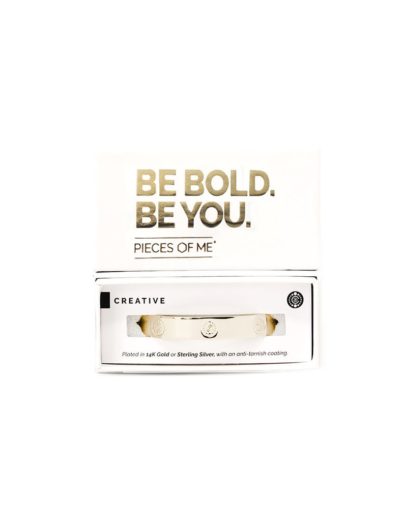 Pieces of Me Cuff Creative Gold