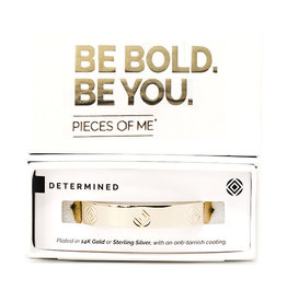 Pieces of Me Bracelet Determined Gold