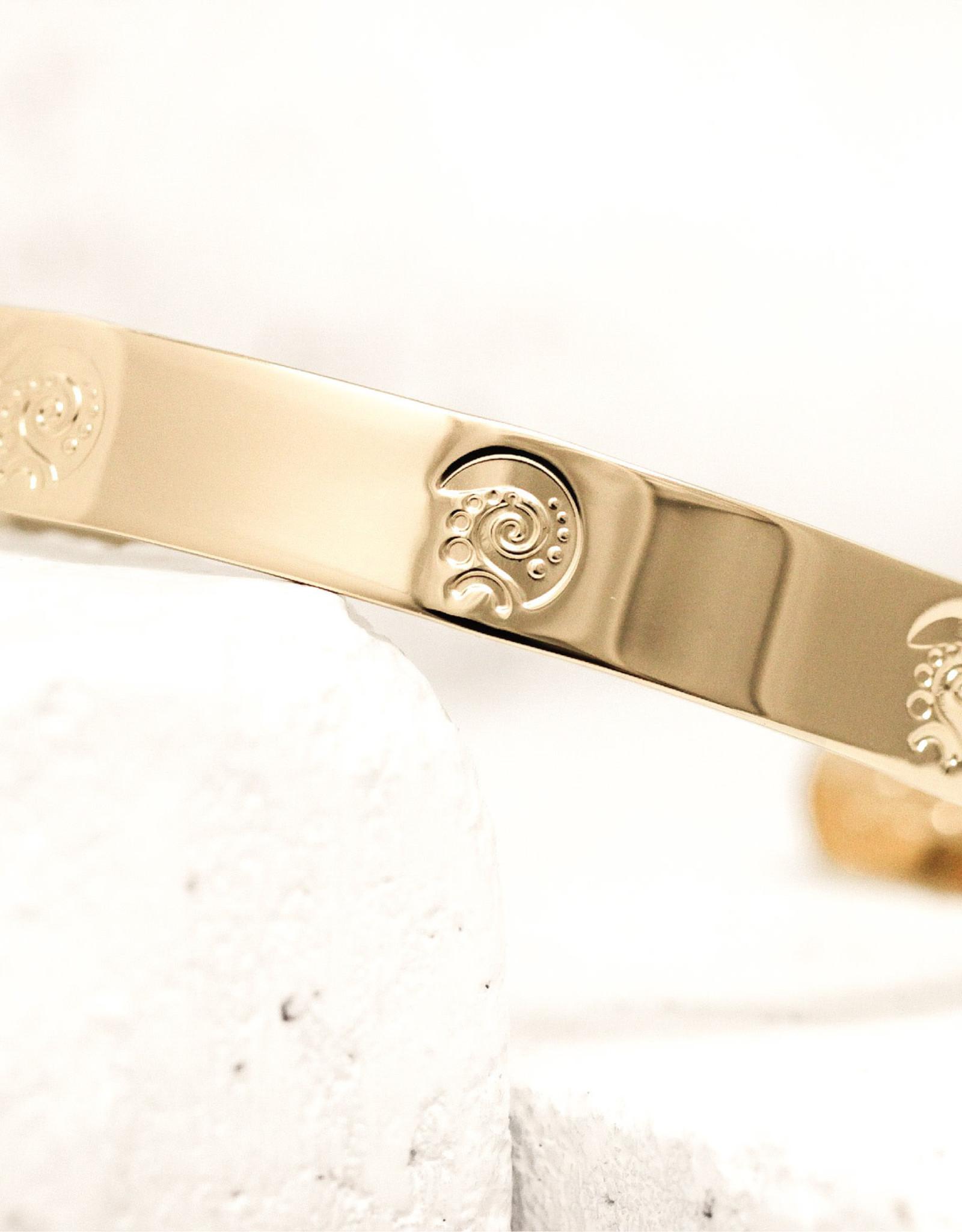 Pieces of Me Bracelet Dreamer Gold