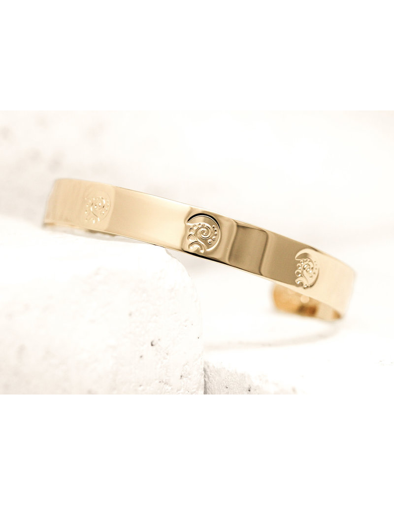 Pieces of Me Cuff Dreamer Gold
