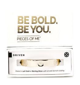 Pieces of Me Bracelet Driven Gold