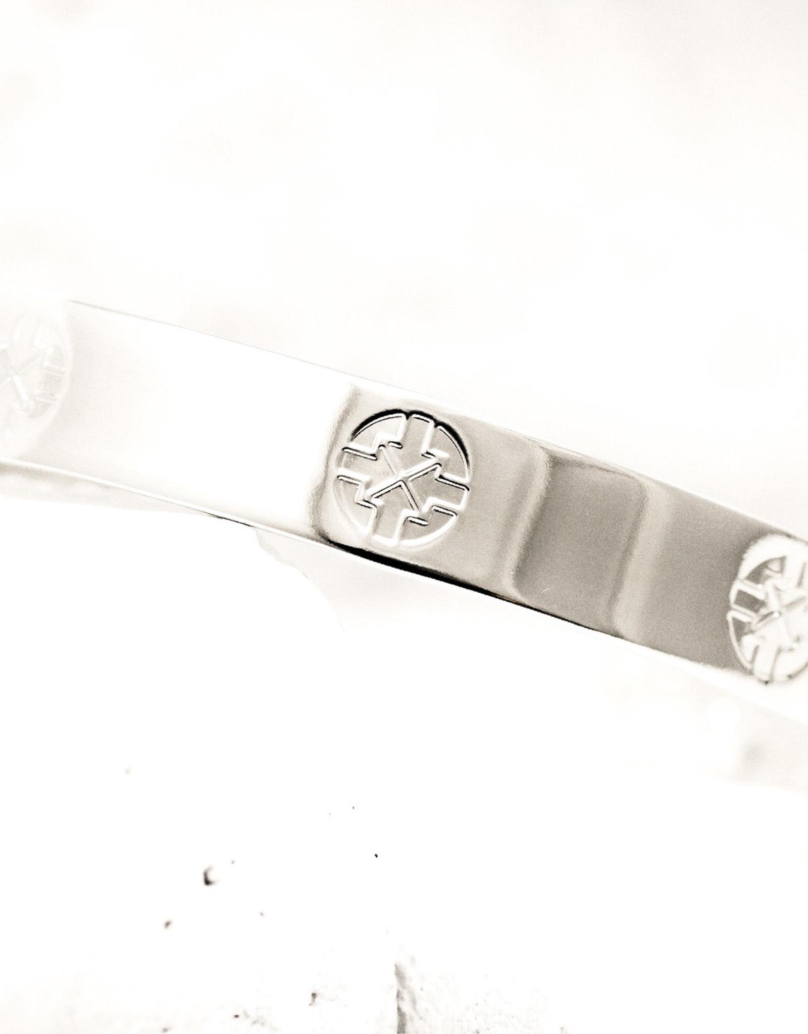 Pieces of Me Bracelet Driven Silver