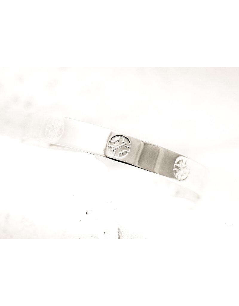 Pieces of Me Cuff Driven Silver