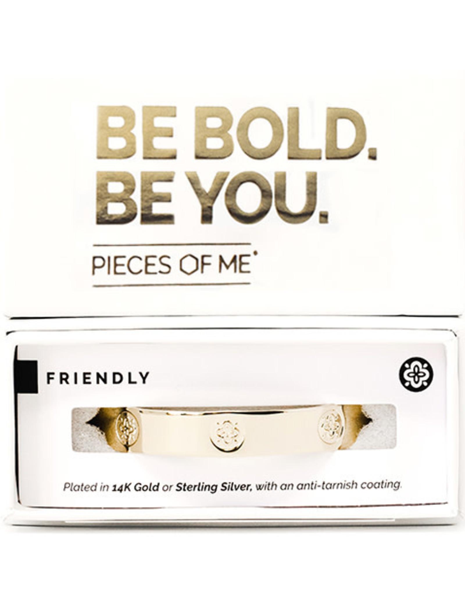 Pieces of Me Bracelet Friendly Gold