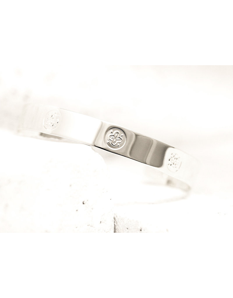 Pieces of Me Cuff Friendly Silver