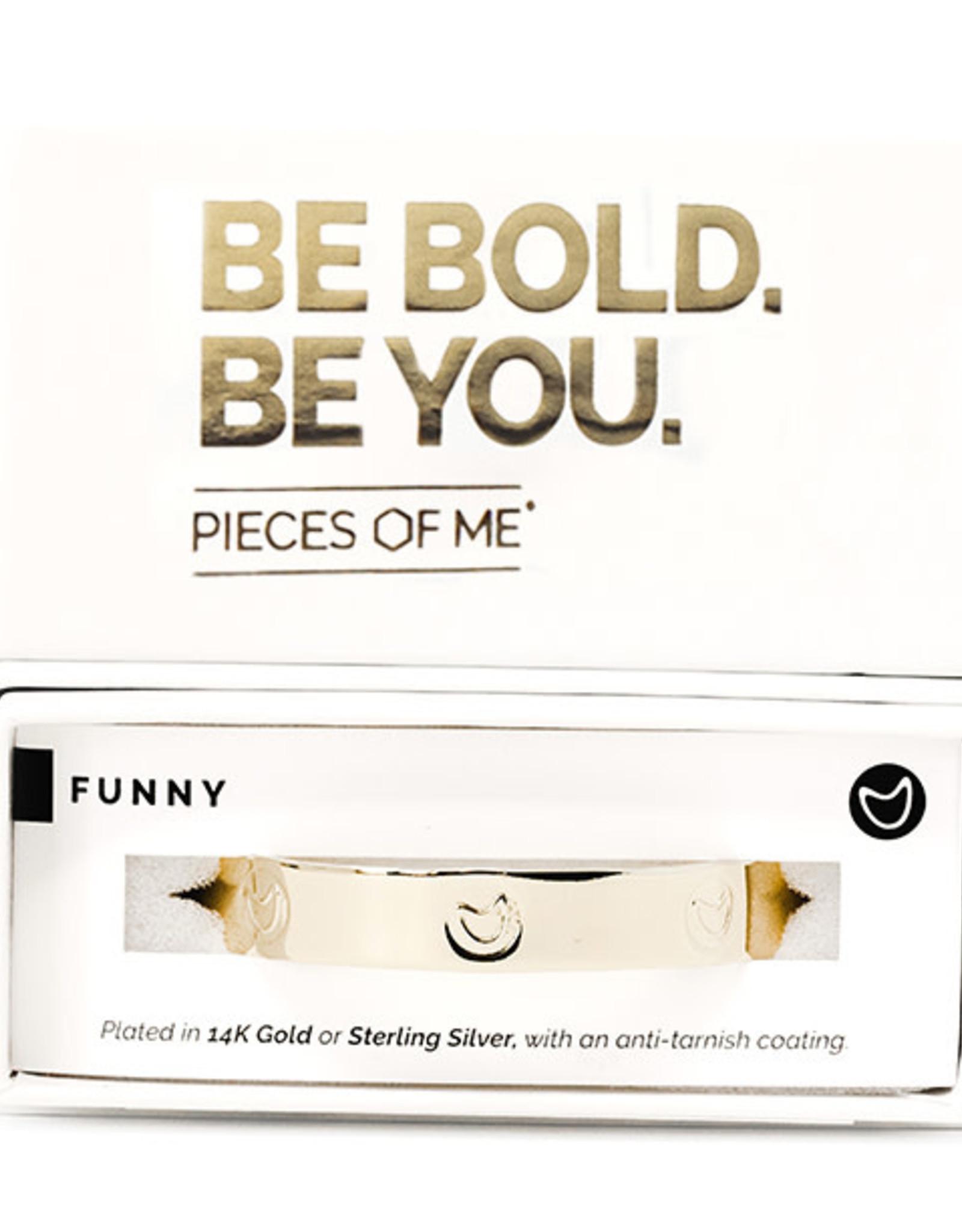 Pieces of Me Bracelet Funny Gold