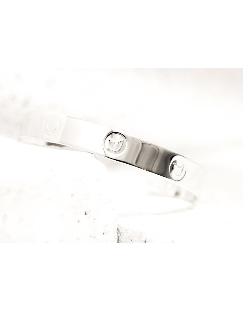 Pieces of Me Cuff Funny Silver
